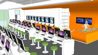 Foto biblioteche del futuro