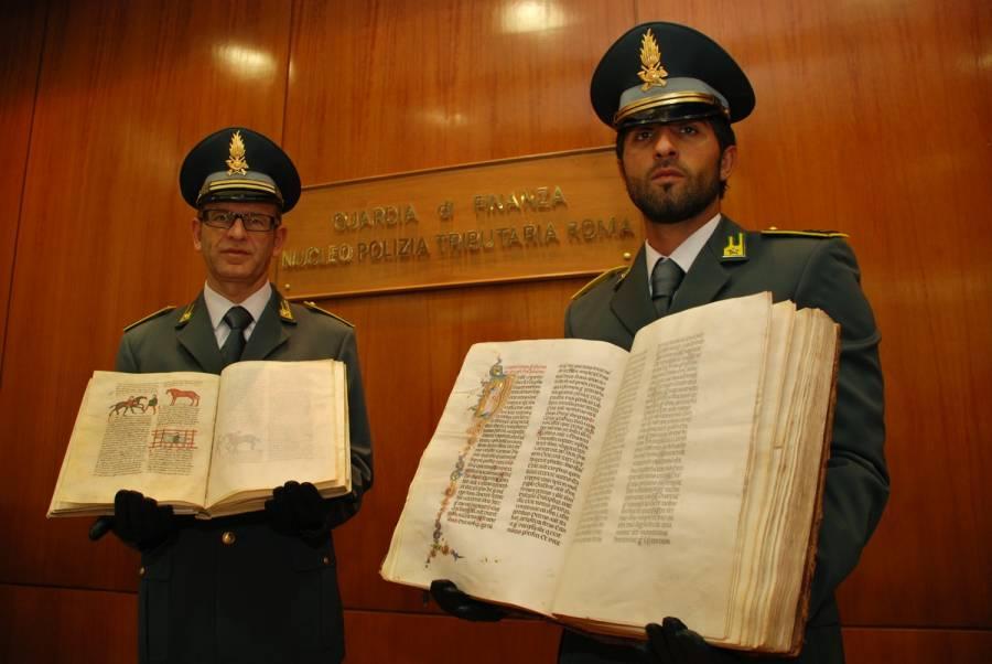recuperati libri antichi