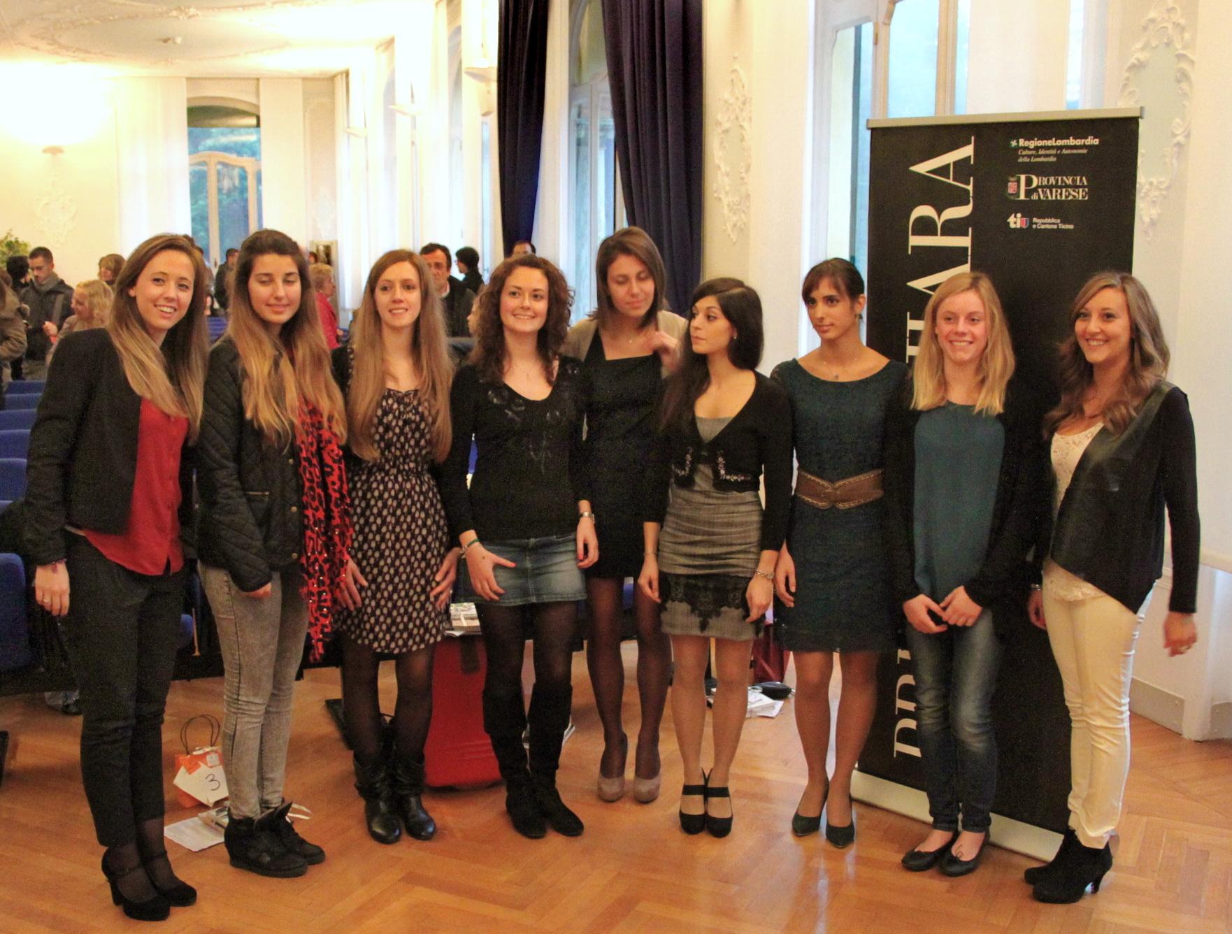 Vincitrici Premio Chiara Giovani 2013