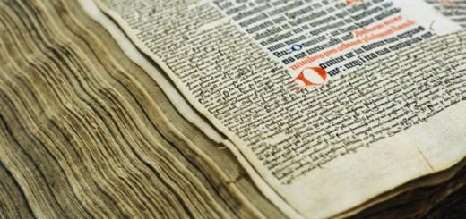Gutenberg bible in Kassel