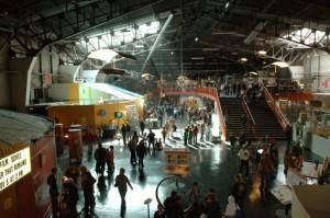 Museum floor in 2006