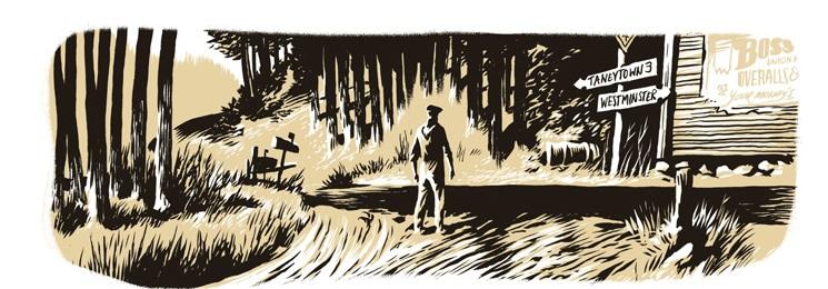 Graphic Novel/ Erik Kriek: In the Pines