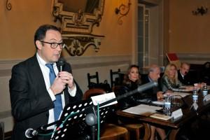"""Antonio Vella, Presidente dell'Associazione culturale Tracciati Virtuali, che promuove il Premio Letterario Città di Castello""""."""